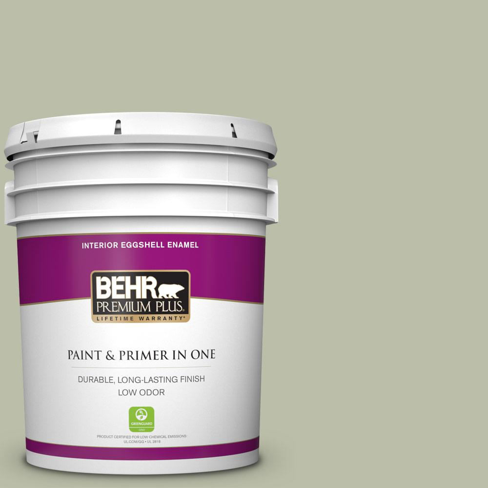 Urban Nature Interieur Behr Premium Plus 5 Gal S380 3 Urban Nature Eggshell Enamel Low Odor Interior Paint And Primer In One