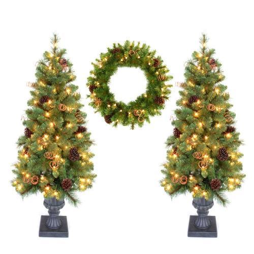 Medium Of Home Depot Artificial Christmas Trees