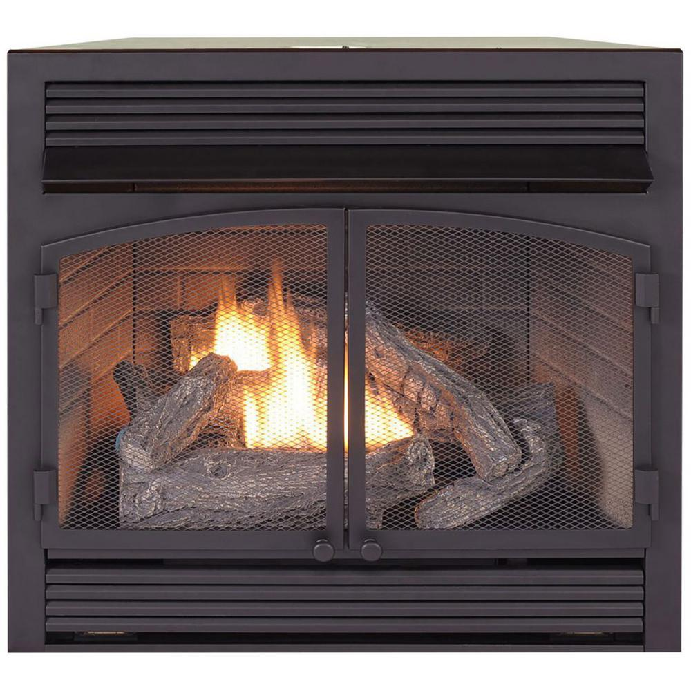 Btu Gas Fireplace Dual Fuel Fireplace Insert Zero Clearance 32 000 Btu