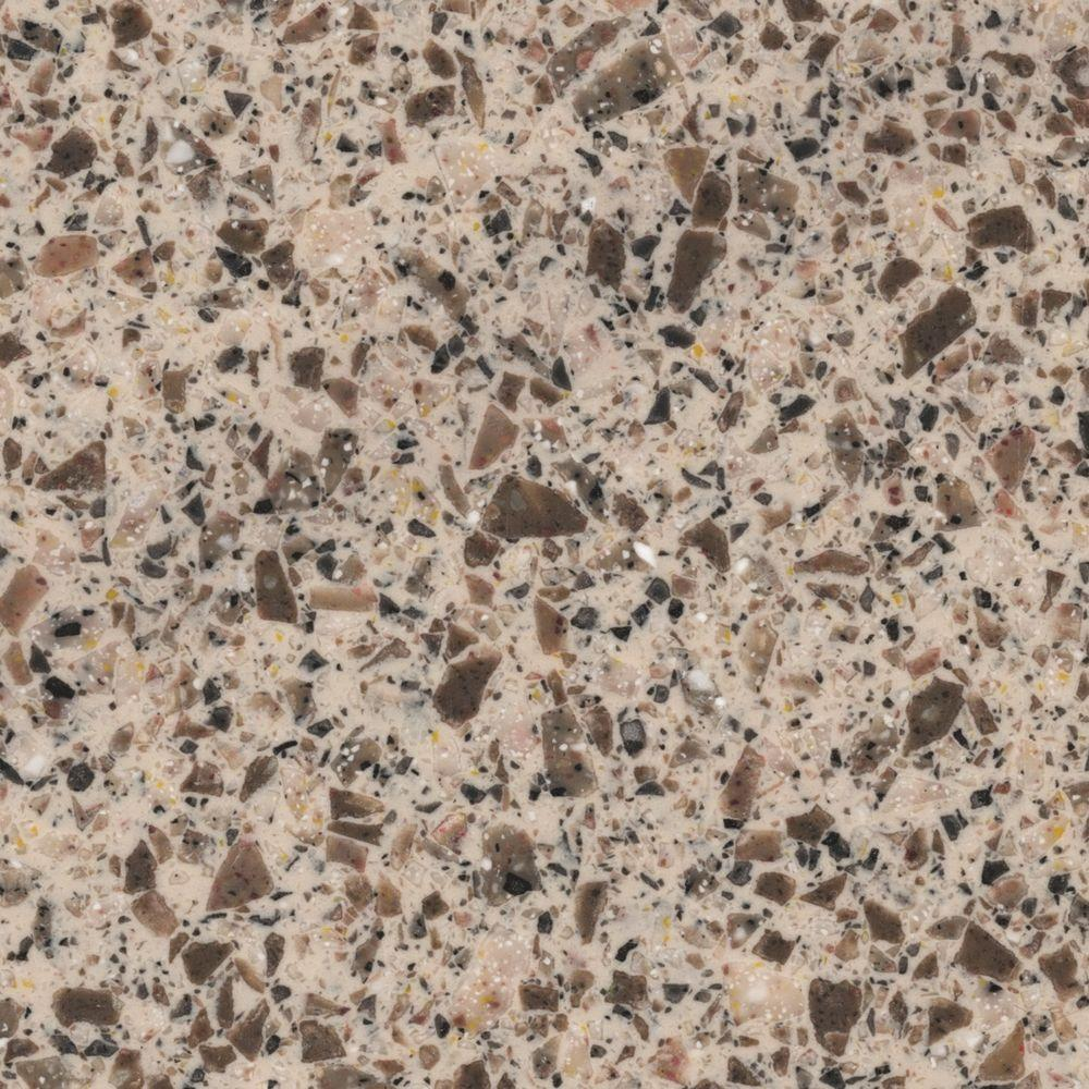 Ugly Granite Countertops Lg Hausys Hi Macs 2 In X 2 In Solid Surface Countertop Sample In Hickory