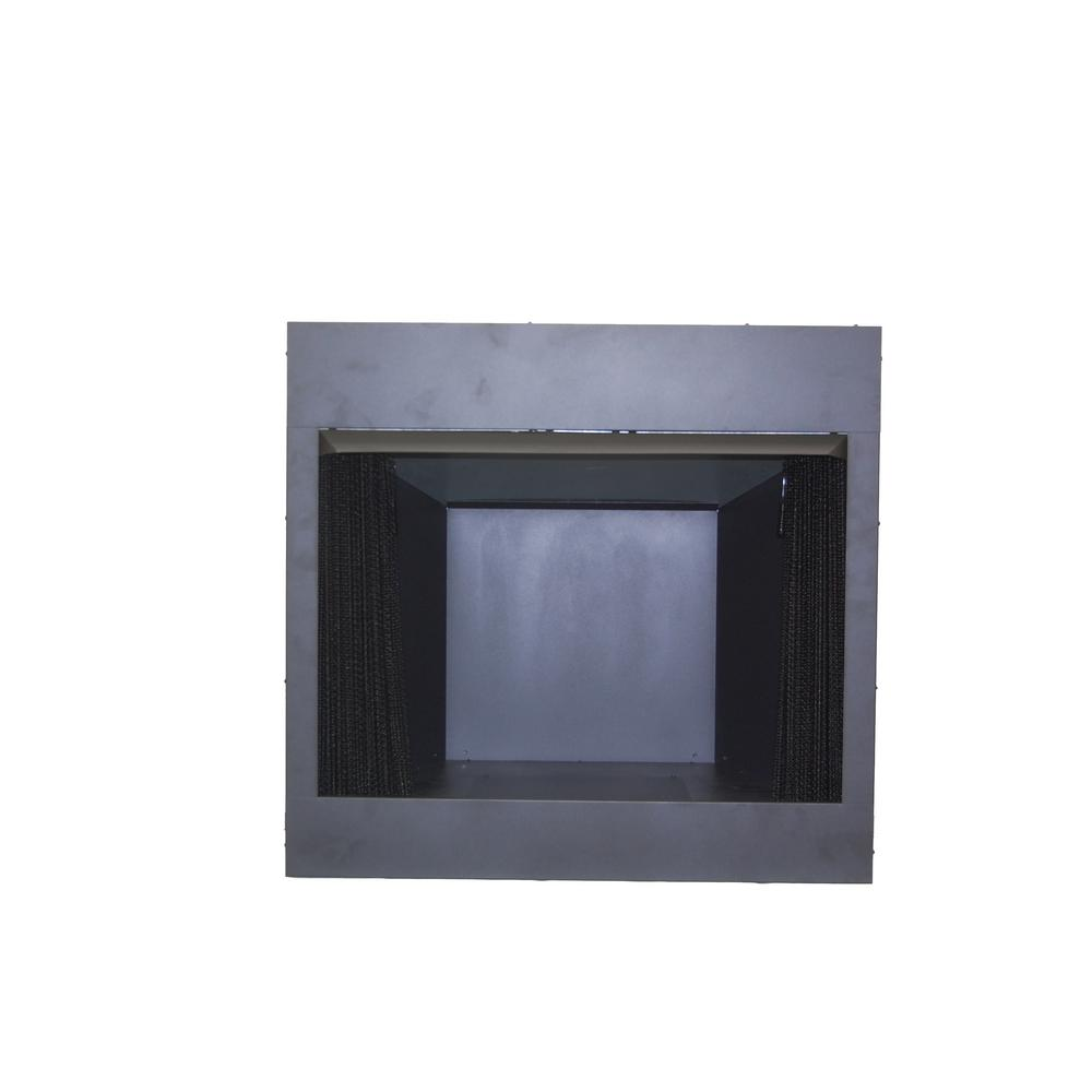 Glass Screen For Gas Fireplace Emberglow 32 In Vent Free Dual Fuel Circulating Firebox Insert With Screen In Black