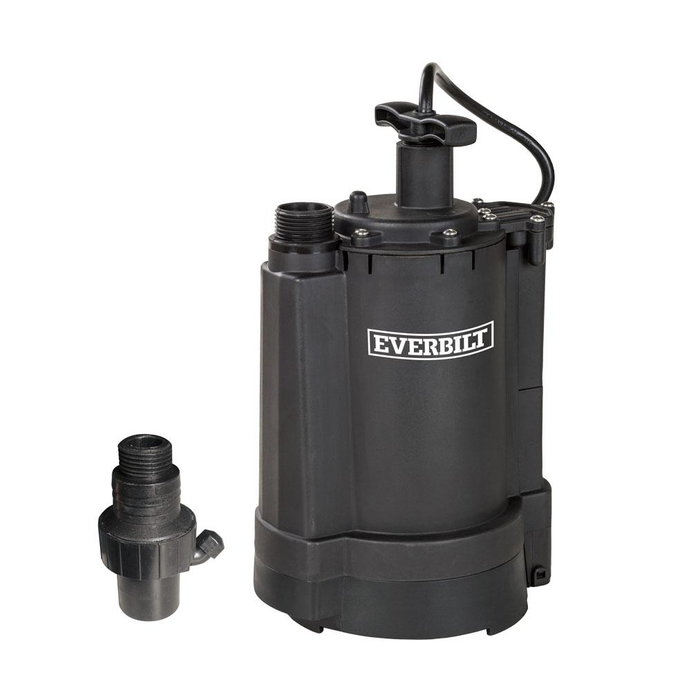 Jacuzzi Pool Pump Not Working Everbilt 1 3 Hp Automatic Utility Pump