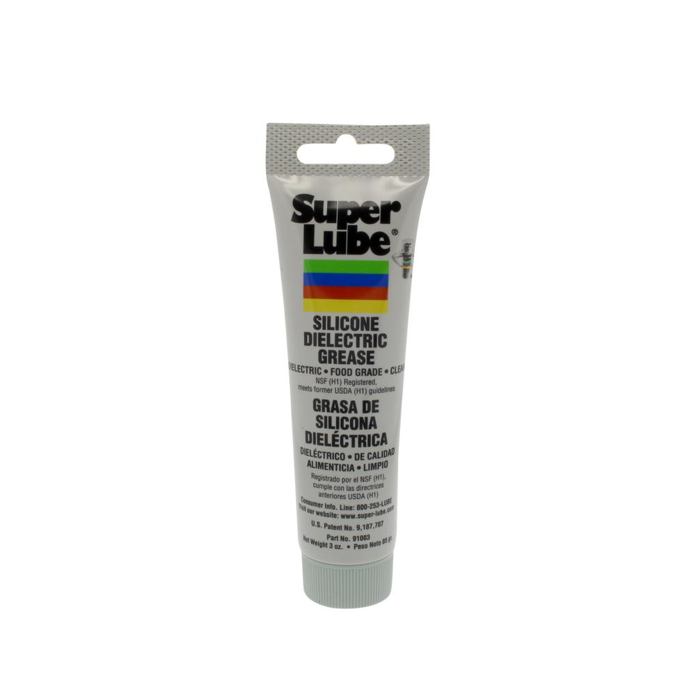 Dielectric Grease Super Lube 3 Oz Tube Silicone Hi Dielectric Vacuum Grease