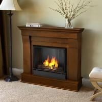 Real Flame Chateau 41 in. Ventless Gel Fuel Fireplace in ...