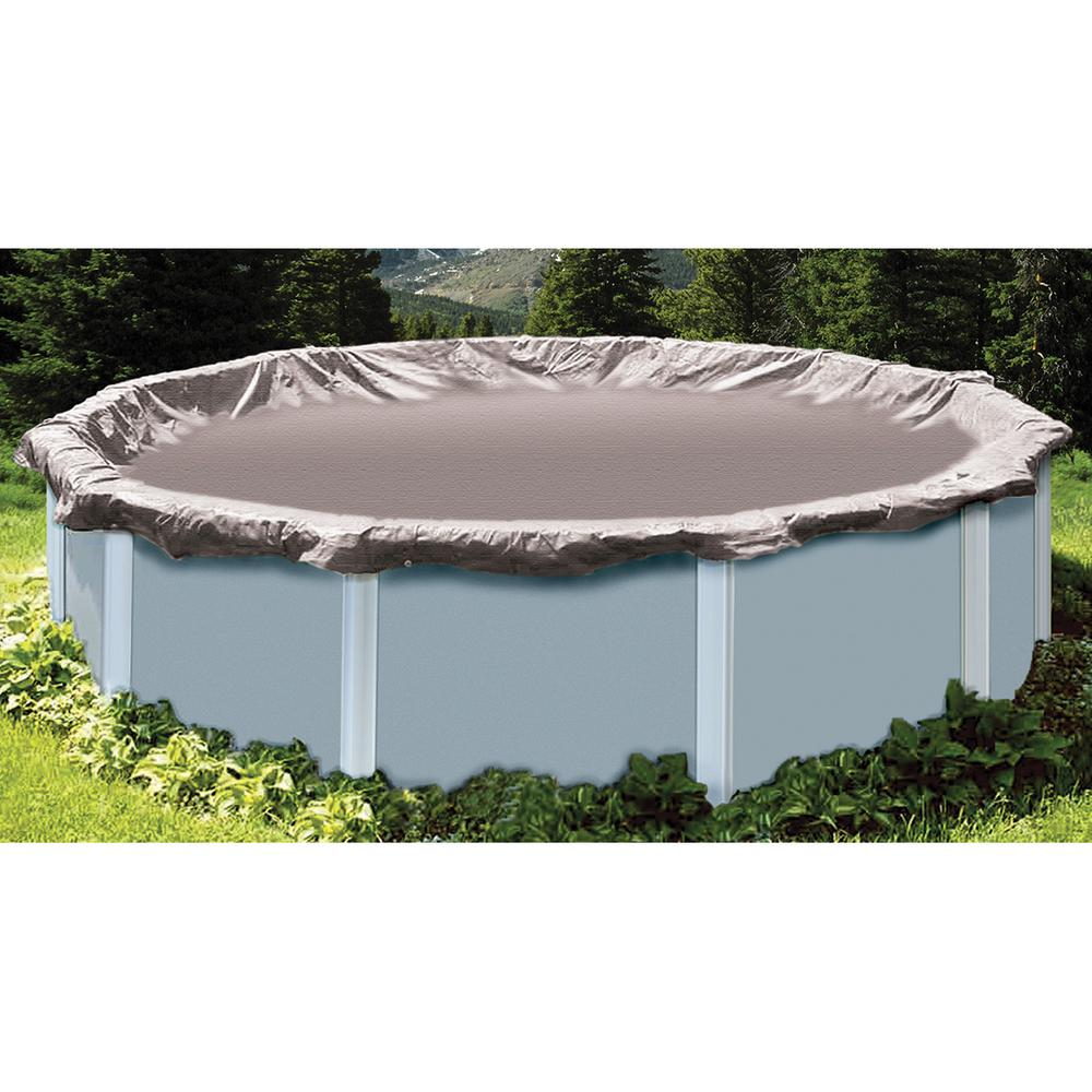 Above Ground Pool Winter Cover Swimline 19 Ft X 34 Ft Oval Silver Above Ground Super Deluxe Winter Pool Cover