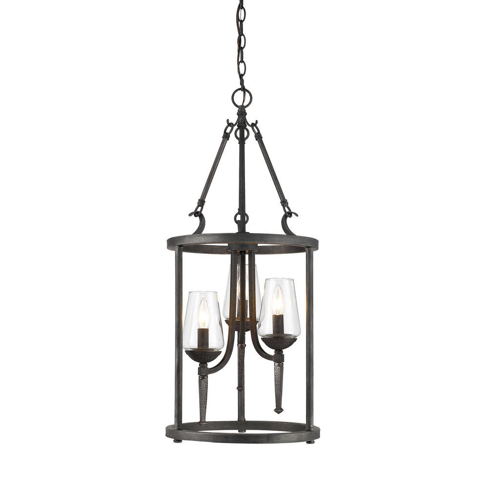 Black Wrought Iron Kitchen Light Fixtures Lighting The Home Depot