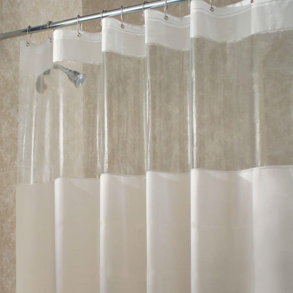Glass Shower Curtains Hitchcock Long Shower Curtain In Clear
