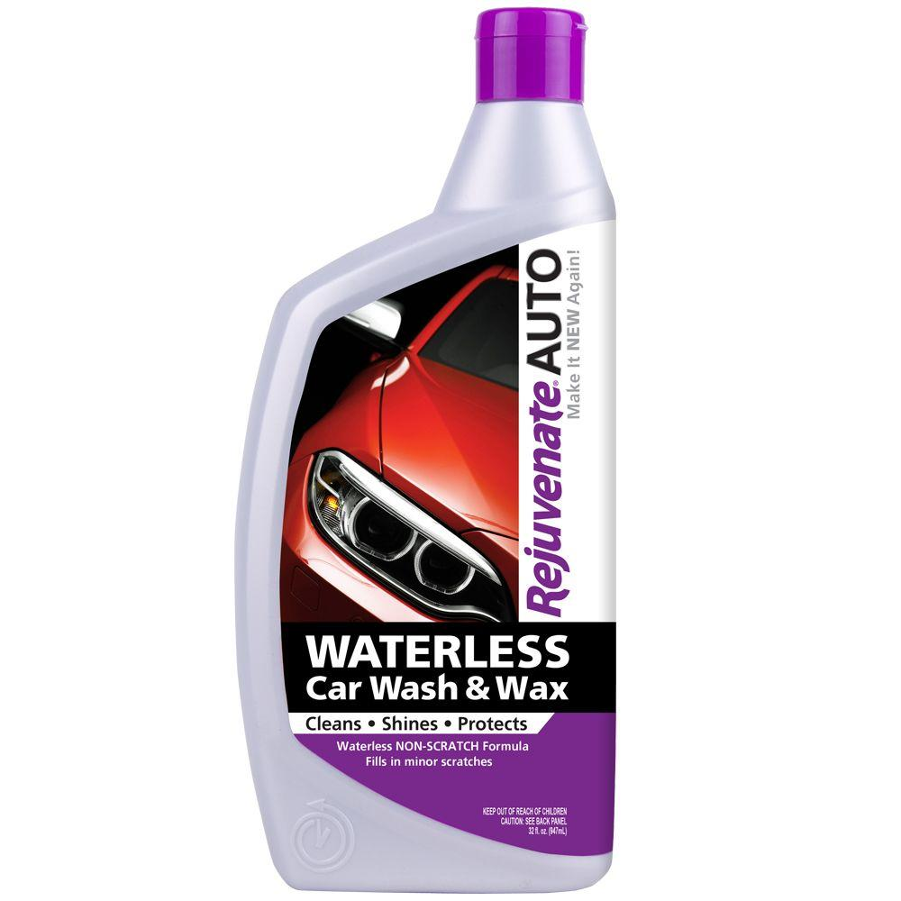 Auto Wash Rejuvenate Auto Waterless Car Wash And Wax