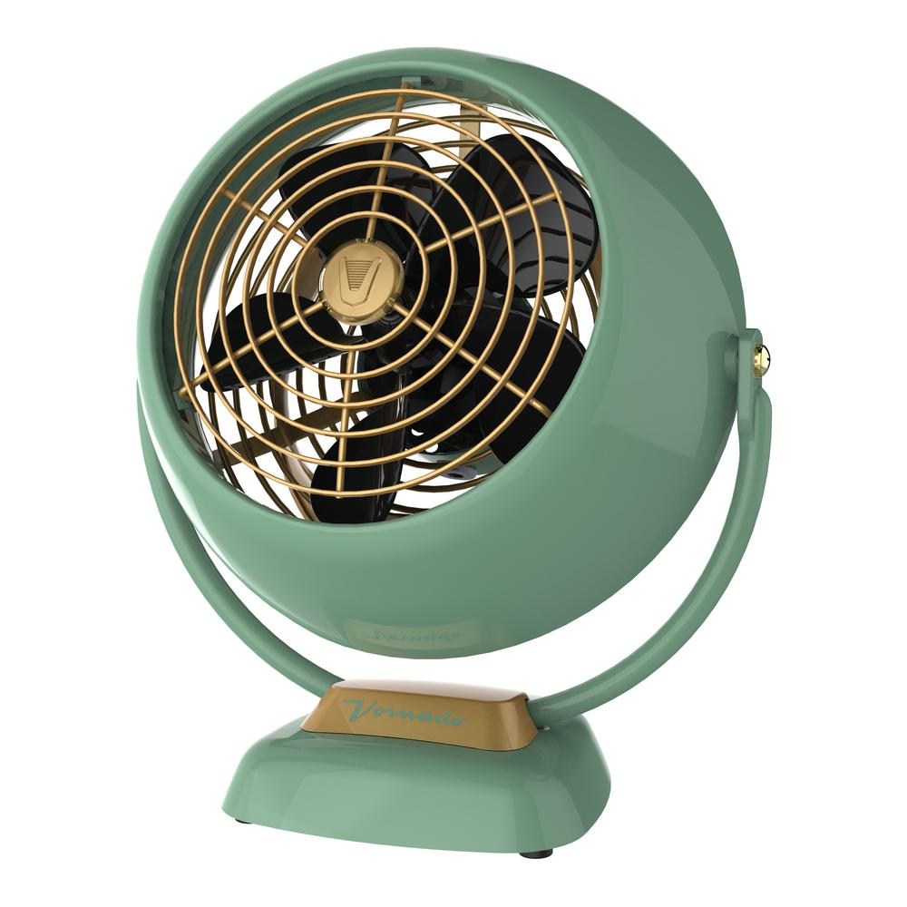 Vintage Looking Fan Vornado Vfan Jr 6 4 In Small Vintage Whole Room Air Circulator Desk Fan Green