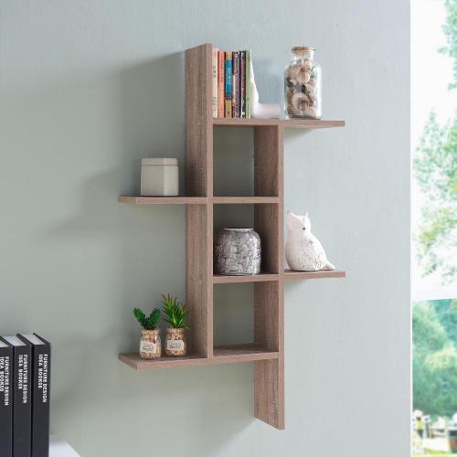Medium Of Floating Wall Bookshelf