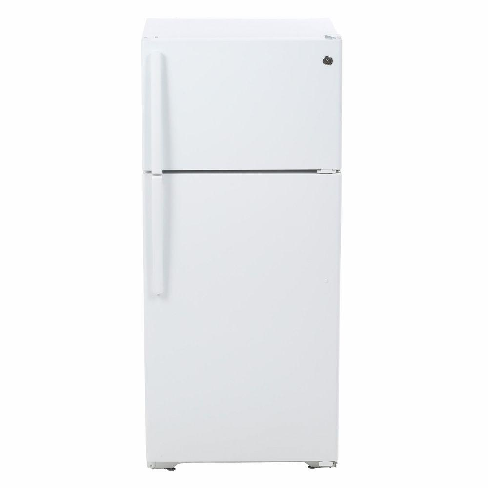 Home Depot Fridges Canada 15 5 Cu Ft Top Freezer Refrigerator In White