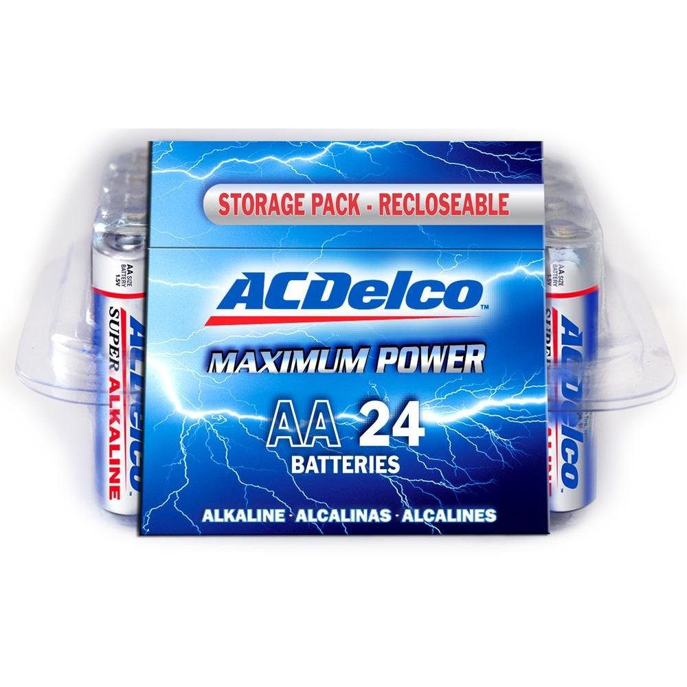 Batterie Aa Upc 683969882513 Batterie 24 Of Aa Acdelco Alkaline Batteries