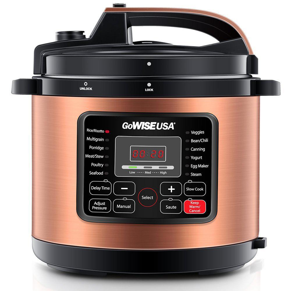 Big W Pressure Cooker Gowise Usa 12 5 Qt Electric Pressure Cooker With 12 Presets