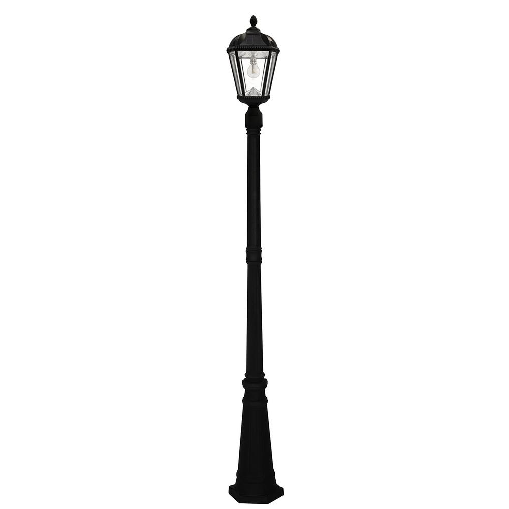 Lampadaire Exterieur Home Hardware Royal Bulb Series Single Black Integrated Led Outdoor