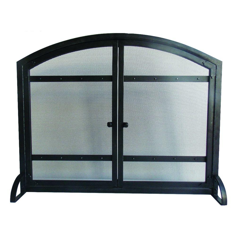Fireplace Screen Home Depot Harper 1 Panel Fireplace Screen With Doors