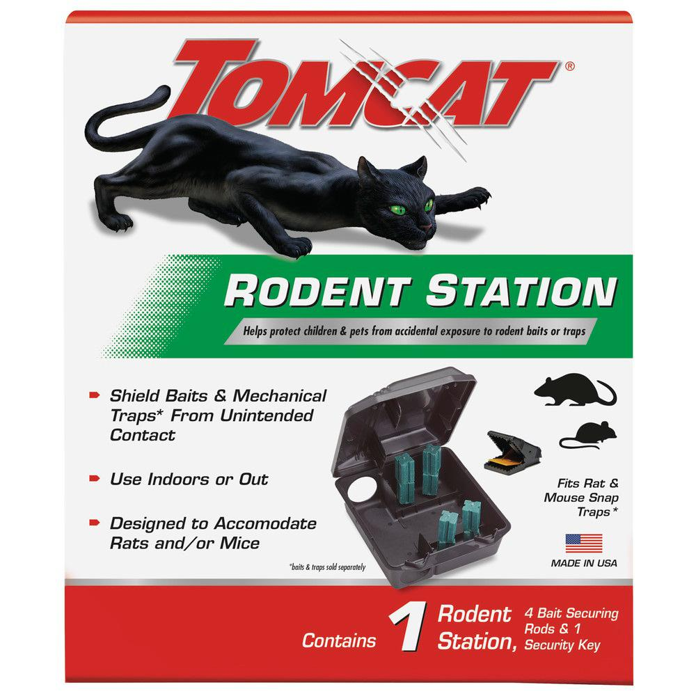 Mouse Bait Boxes Tomcat Rodent Bait Station