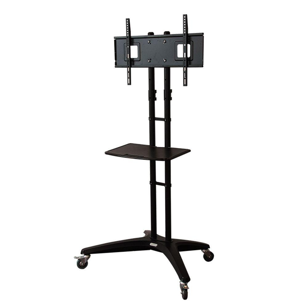 Ideal Loctek Mobile Tv Cart Wheels Lcd Led Plasma Flat Panels Stand Wheels Portable Tv Stand Wheelsmobile Fits Loctek Mobile Tv Cart Lcd Led Plasma Flat Panels Stand Mobile Tv Stand houzz-02 Tv Stand With Wheels