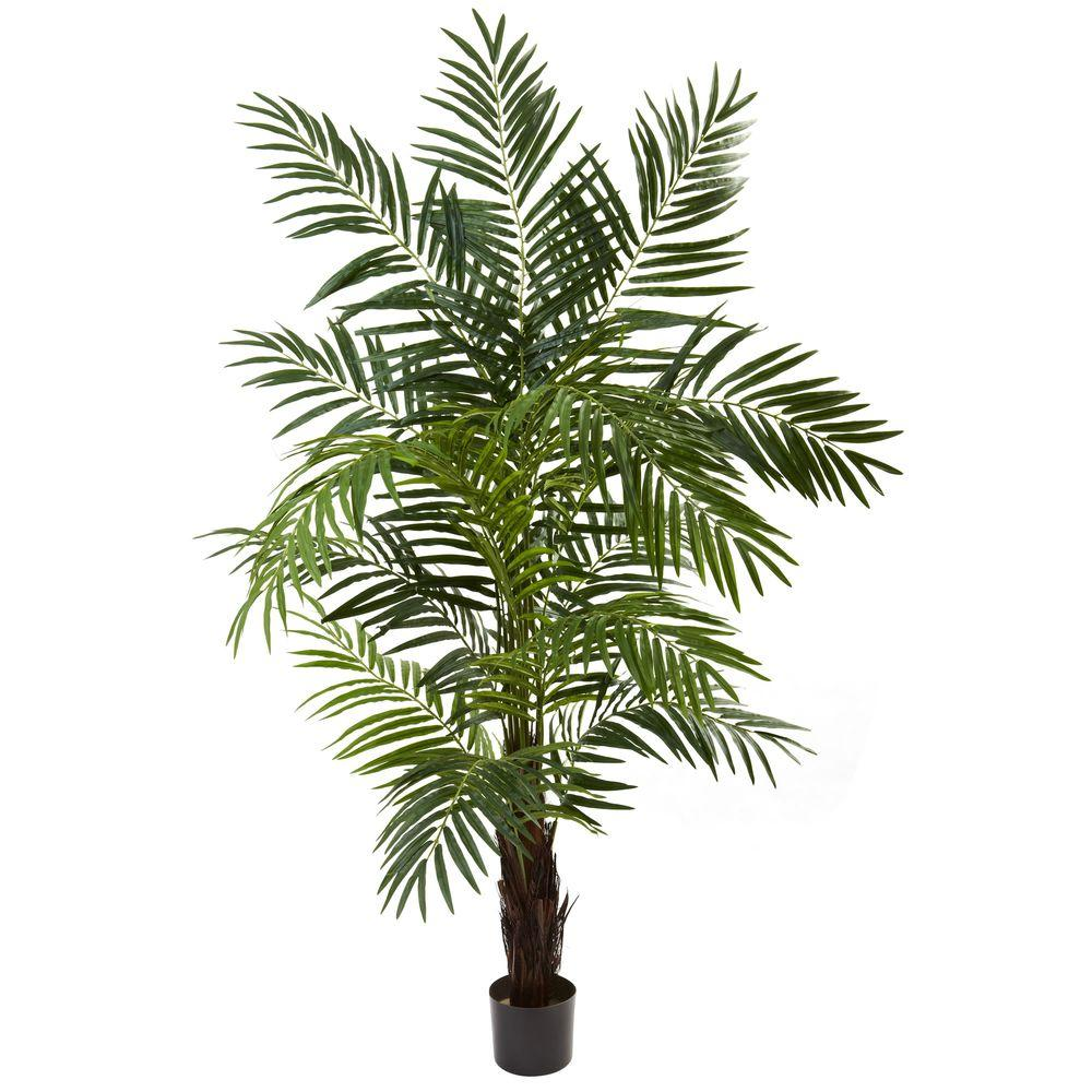 Home Depot Palm Trees Nearly Natural 6 Ft Areca Palm Tree