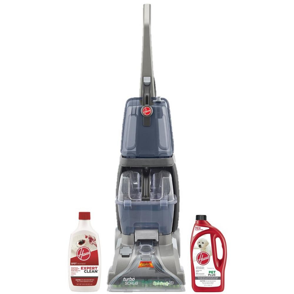 Carpet Cleaning Vacuum Hoover Professional Series Turbo Scrub Upright Carpet Cleaner