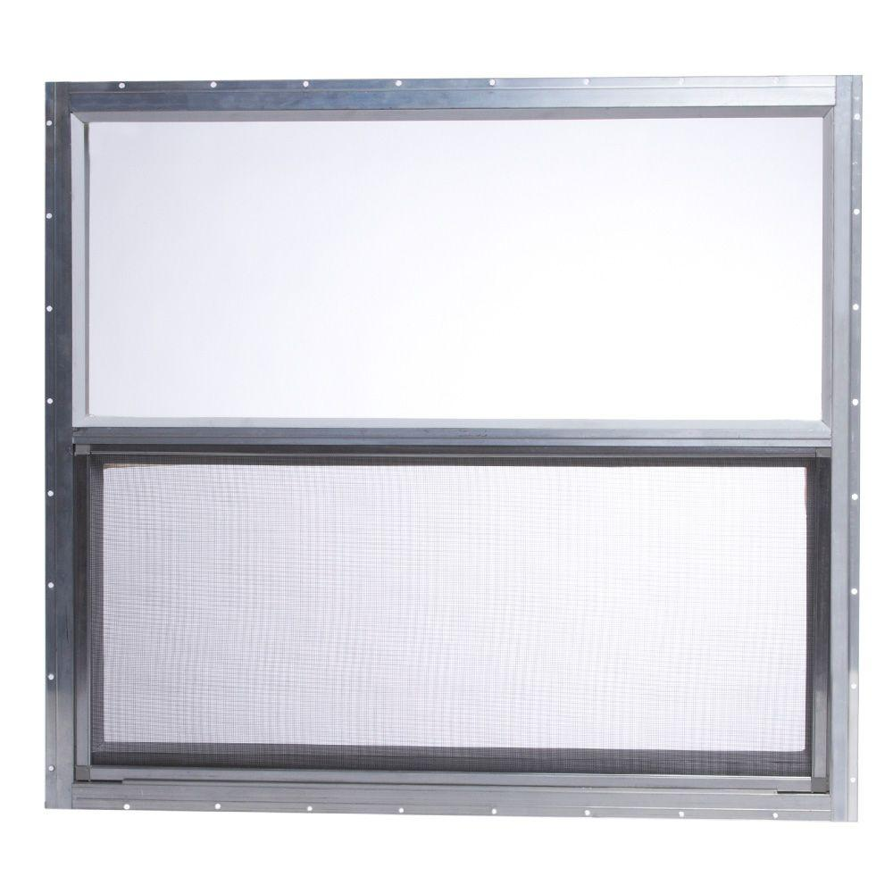 Möbel Internet Tafco Windows 31 75 In X 28 625 In Mobile Home Single Hung Aluminum Window Silver