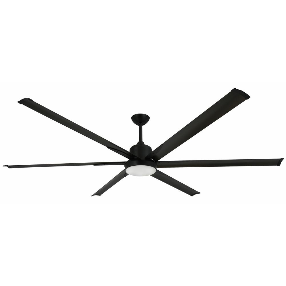 Large Indoor Fans Troposair Titan 84 In Indoor Outdoor Oil Rubbed Bronze Ceiling Fan And Light