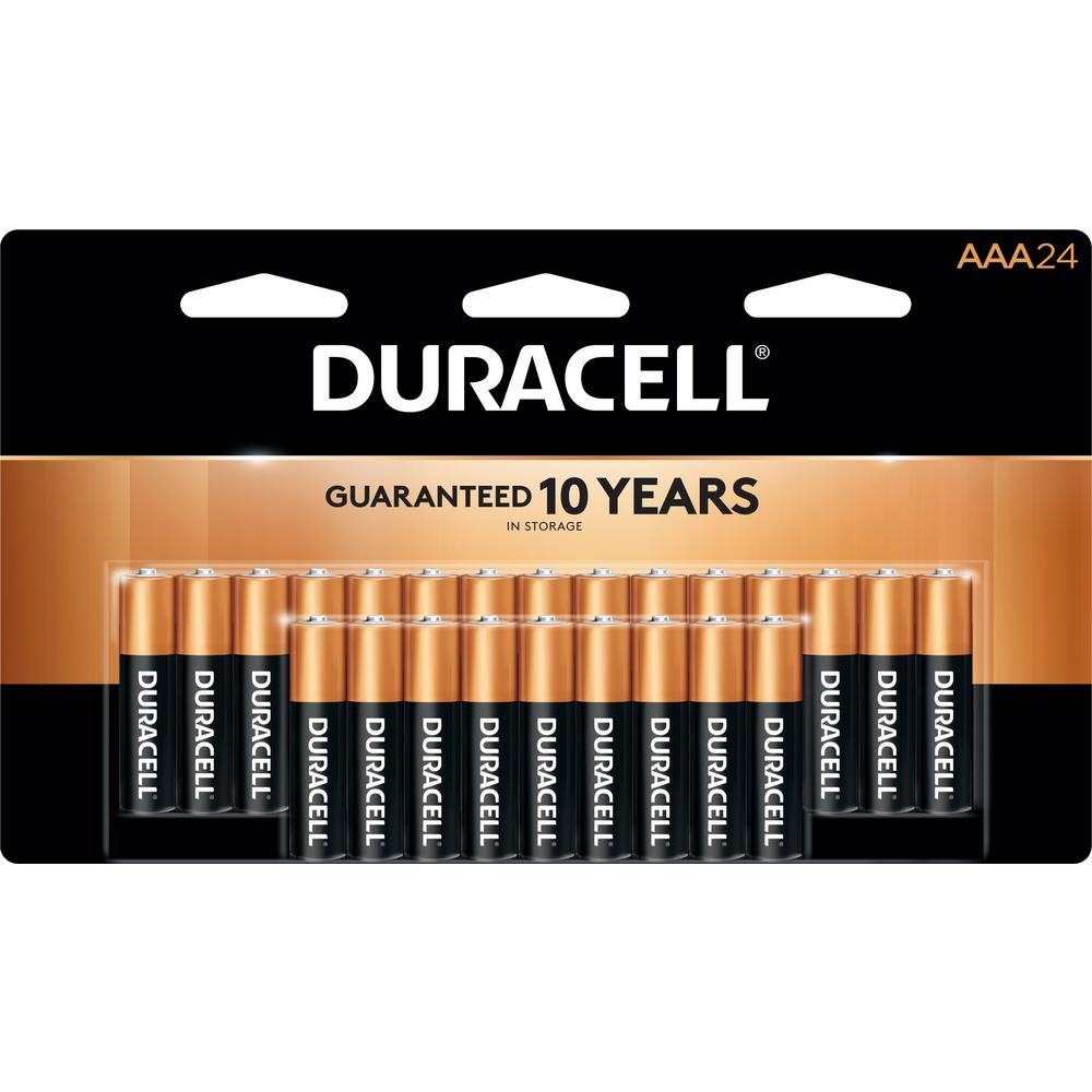 Duracell Coppertop Aaa Alkaline Battery 24 Pack - Batterie Aaa