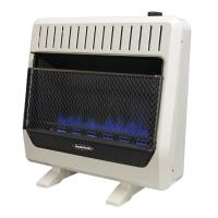 Reddy Heater 30,000 BTU Unvented Blue Flame Propane Gas ...