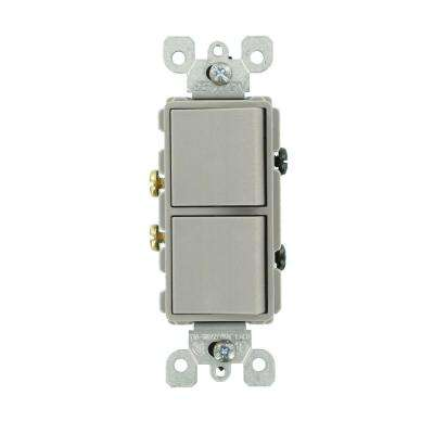 Leviton - Gray - Light Switches - Wiring Devices  Light Controls