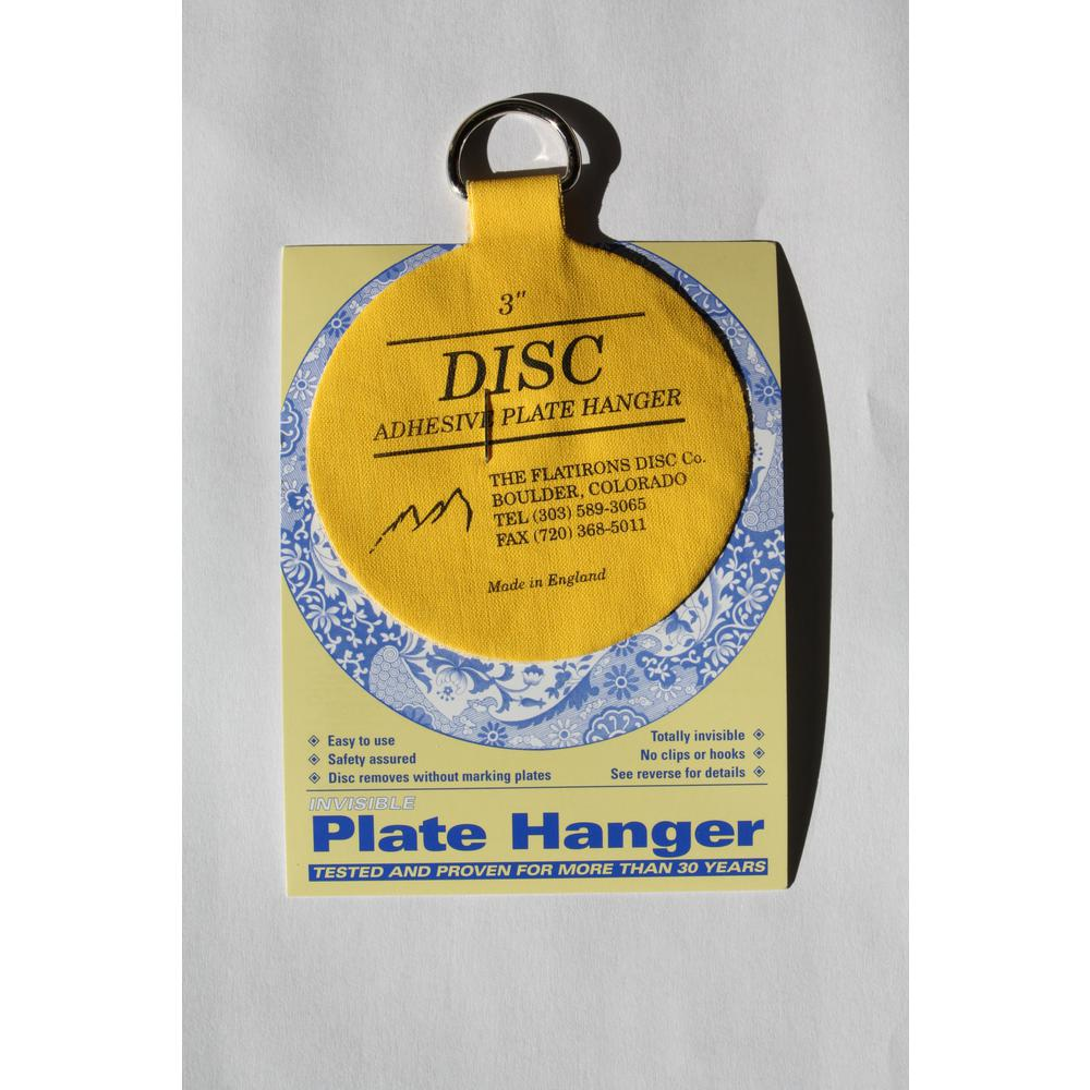Glass Plate Hanger 3 In Invisible Disc Plate Hangers 10 Pack