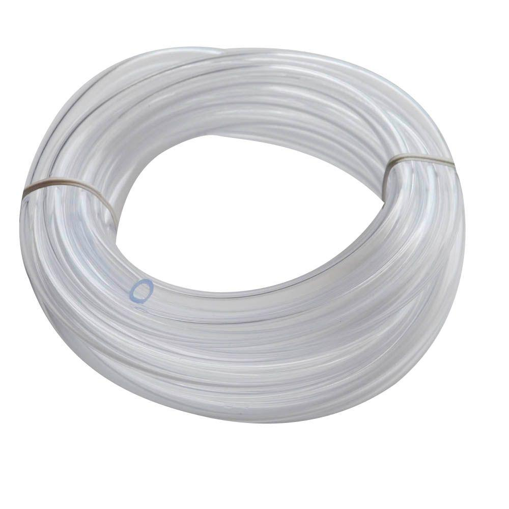 Vinyle Pvc Everbilt 1 4 In O D X 1 6 In I D X 10 Ft Pvc Clear Vinyl Tube