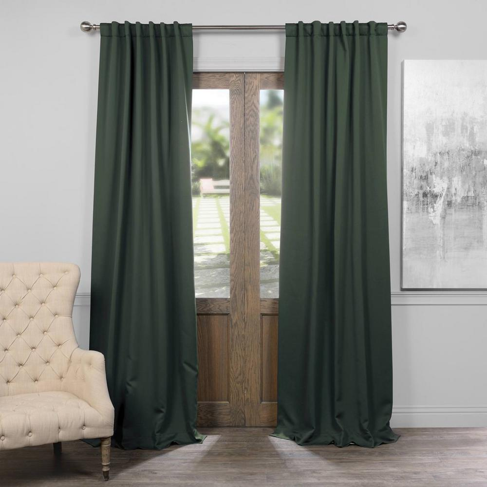 Dark Blue And Grey Curtains Exclusive Fabrics Furnishings Semi Opaque Navy Blue Blackout Curtain 50 In W X 84 In L Panel