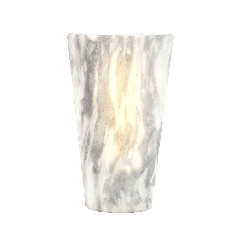 Battery Operated Wall Sconce Lighting It S Exciting Lighting Vivid Series Stone Indoor Outdoor Led High Gloss Battery Operated Sconce