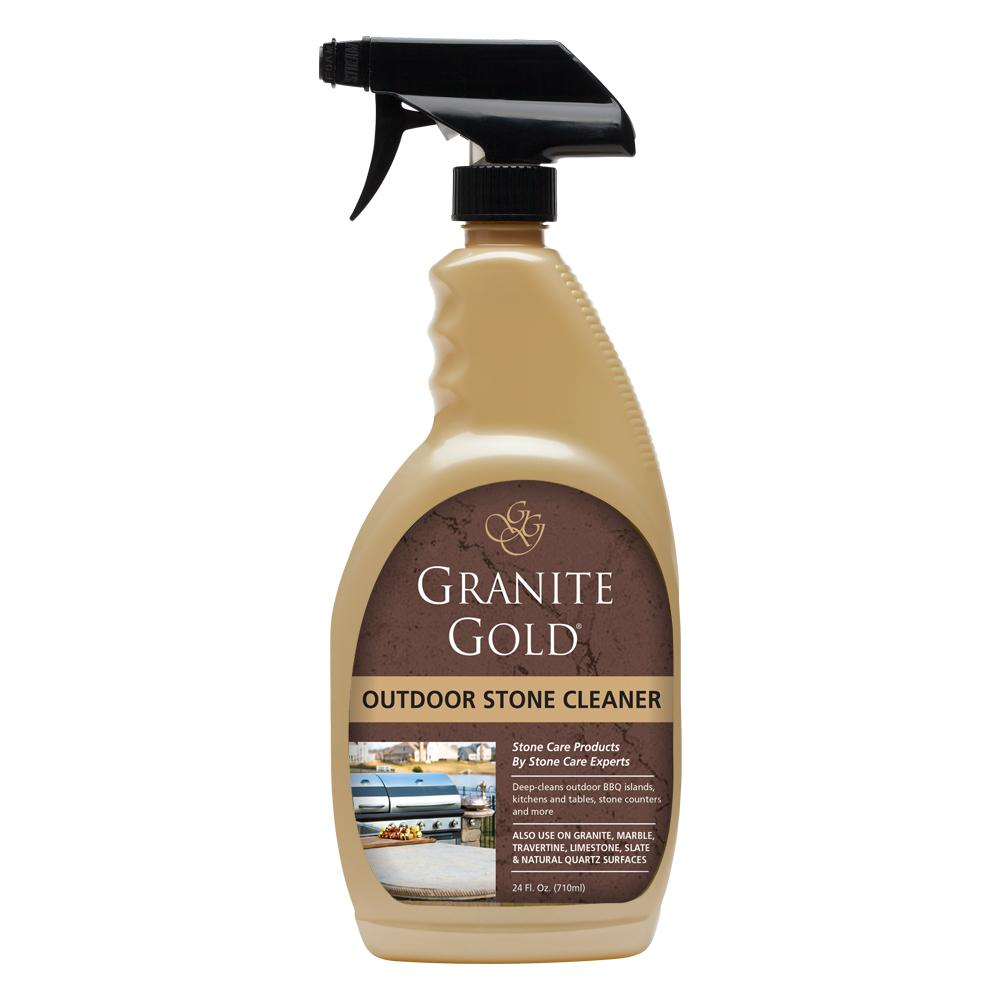 Granite Gold Outdoor Stone Cleaner 24 Oz Gg0055 The