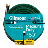 Gilmour 5/8 in. Dia x 50 ft. Medium-Duty Water Hose ...