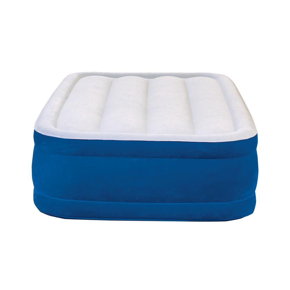 King Size Air Bed Camping Air Mattresses Bedroom Furniture The Home Depot