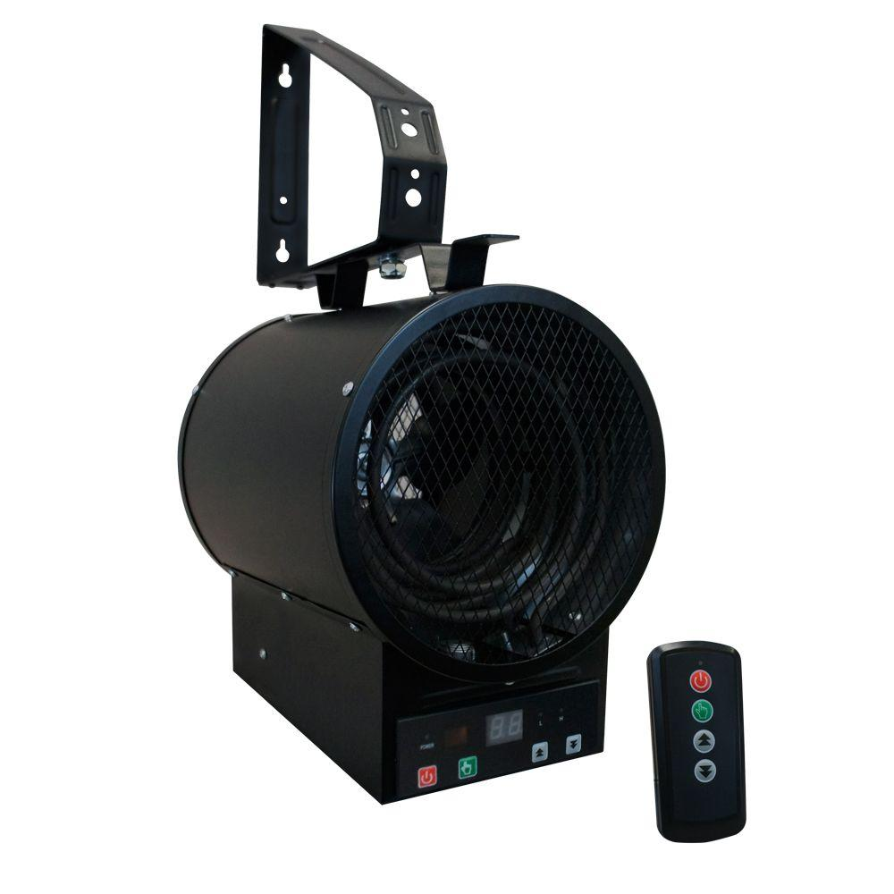 King Electric Garage Heater Fahrenheat 4 800 Watt 240 Volt Garage Heater With Remote Control