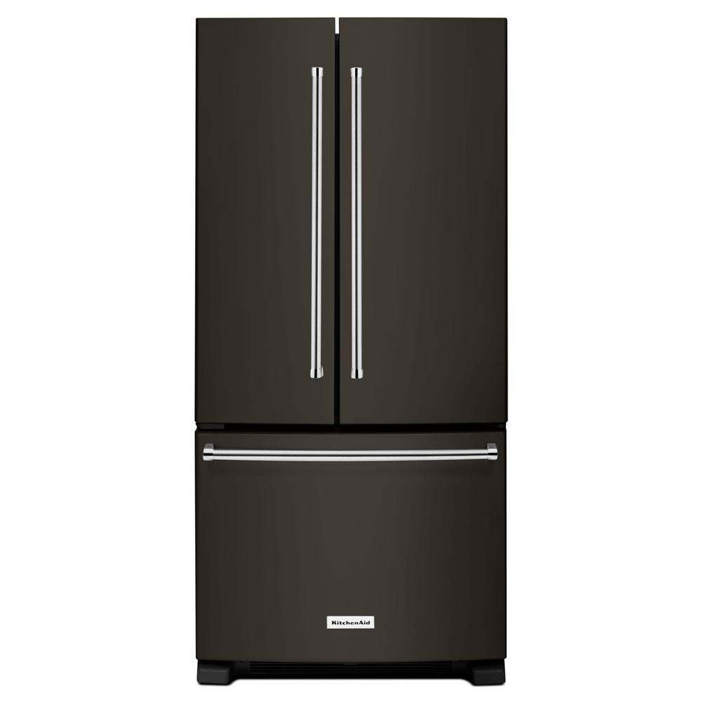 Kitchenaid Krff302ess Kitchenaid 22 1 Cu Ft French Door Refrigerator In Stainless Steel With Interior Dispenser