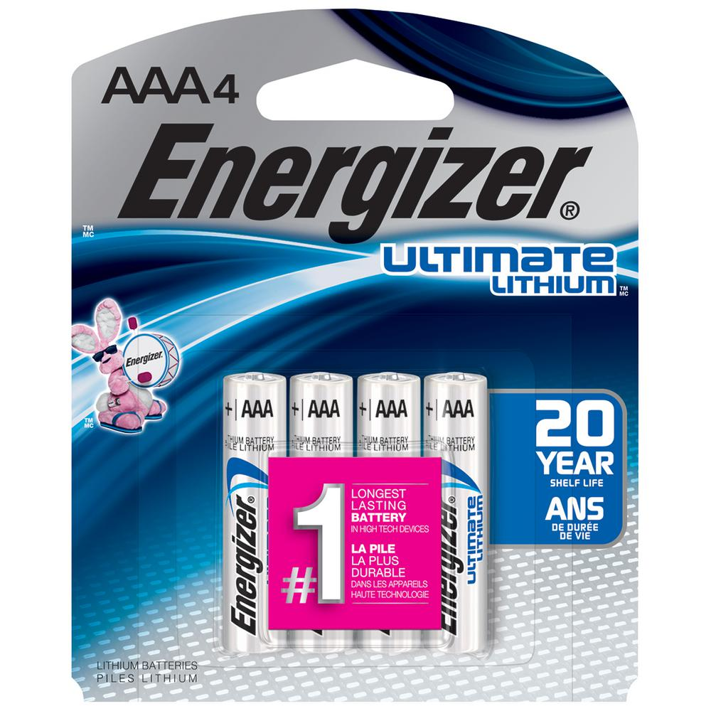 Aaa Baterien Energizer Ultimate Lithium Aaa Battery 4 Pack