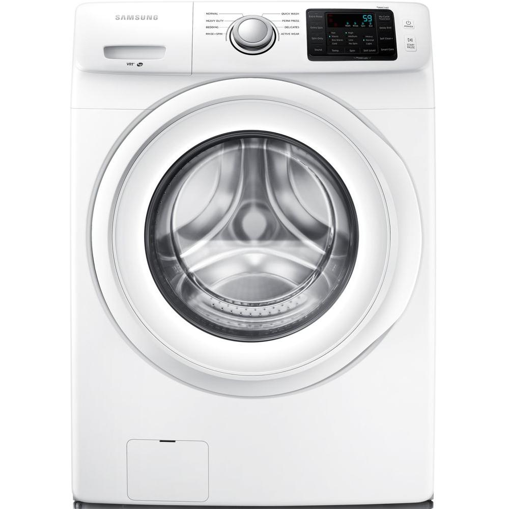 Samsung Front Load Washer Samsung 4 2 Cu Ft High Efficiency Front Load Washer In White Energy Star