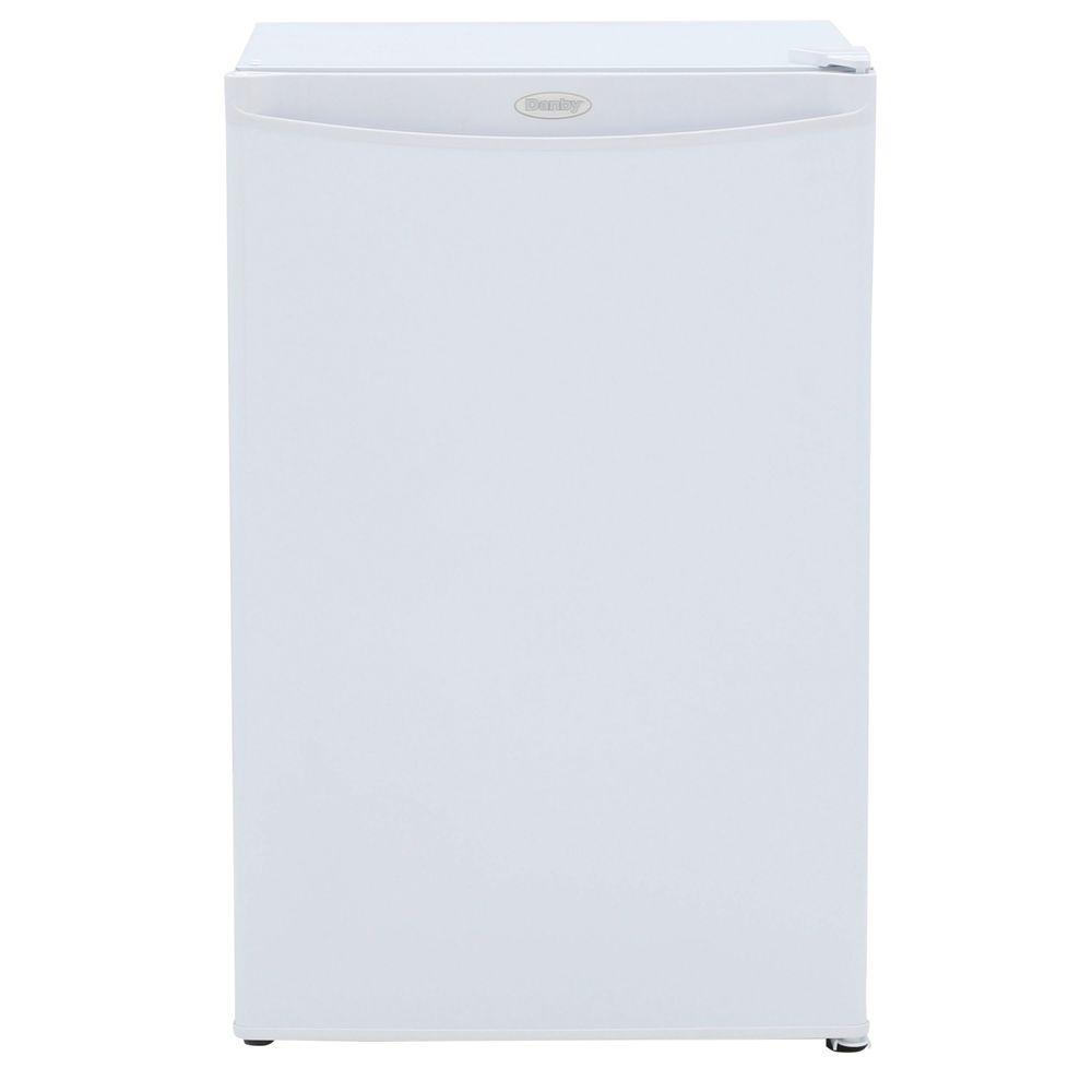 Small Stand Up Freezer Danby 3 2 Cu Ft Manual Defrost Upright Freezer In White