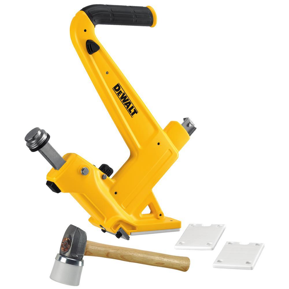 Dewalt 16 Gauge Manual Hardwood Flooring Nailer Dwmfn 201