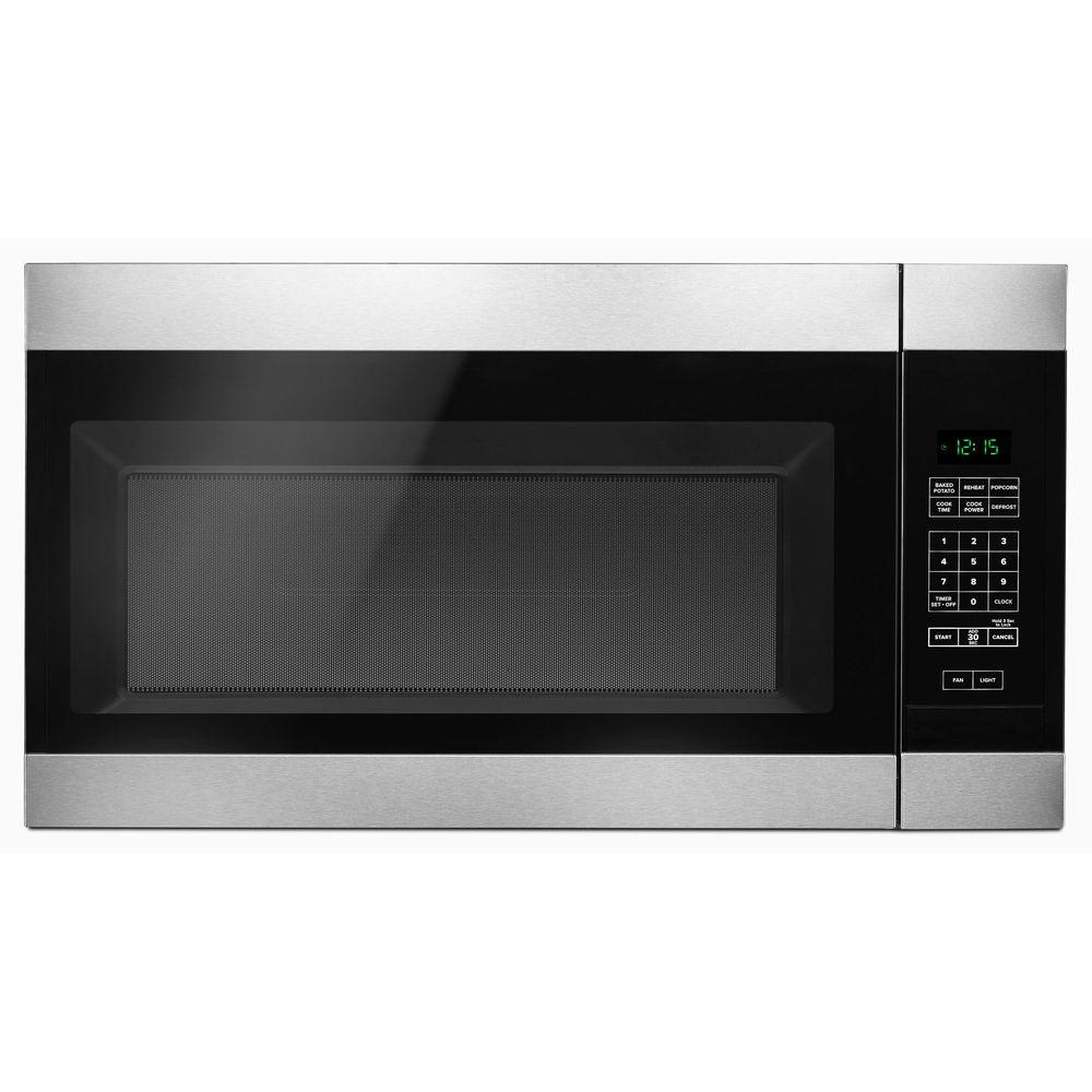Kitchen Island Clearance Sale 1 6 Cu Ft Over The Range Microwave In Stainless Steel