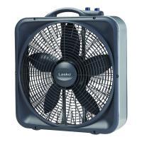 Lasko Weather-Shield Select 20 in. 3-Speed Box Fan with ...