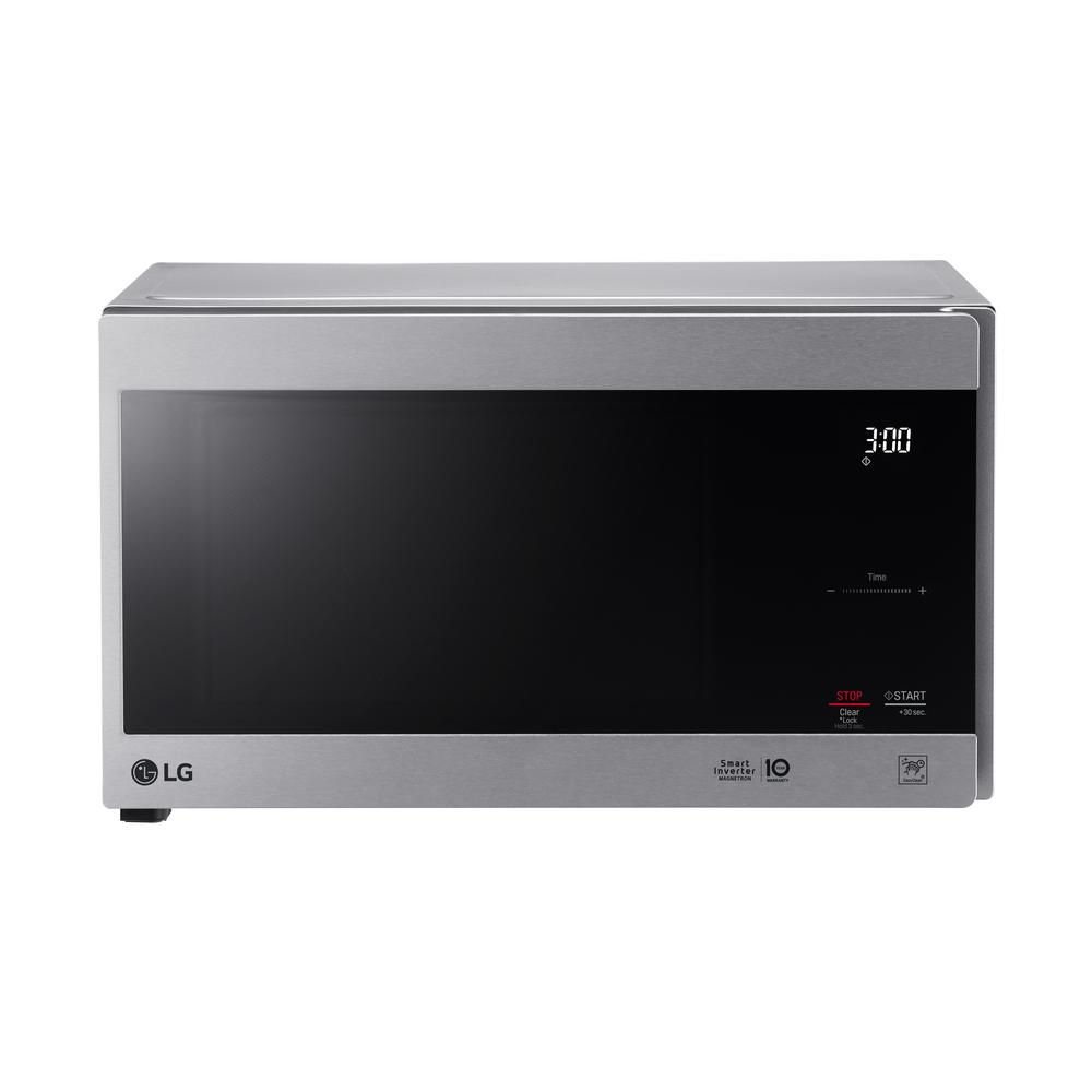 Lowes Countertop Microwaves Neochef 9 Cu Ft Countertop Microwave In Stainless Steel