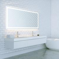 Dyconn Swan 48 in. W X 36 in. H LED Backlit Vanity