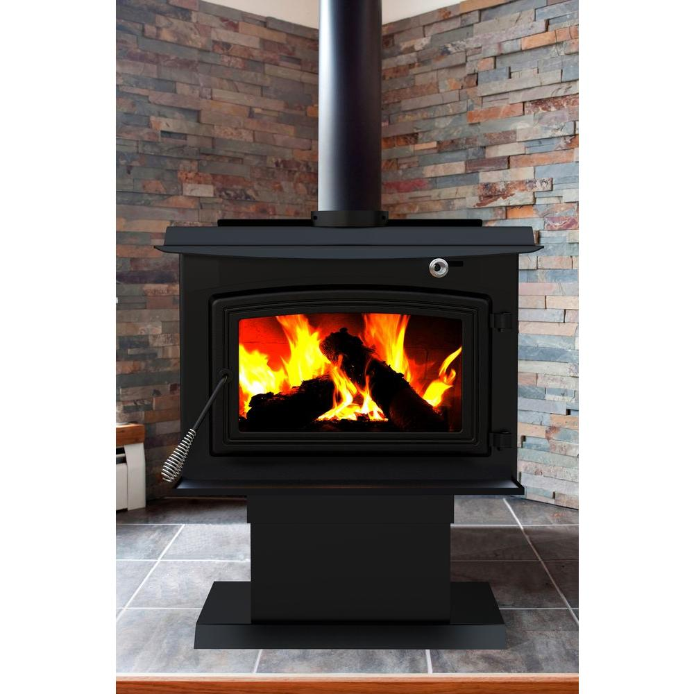 Wood Burning Fireplace Heater Blower Pleasant Hearth 2 200 Sq Ft Epa Certified Wood Burning Stove