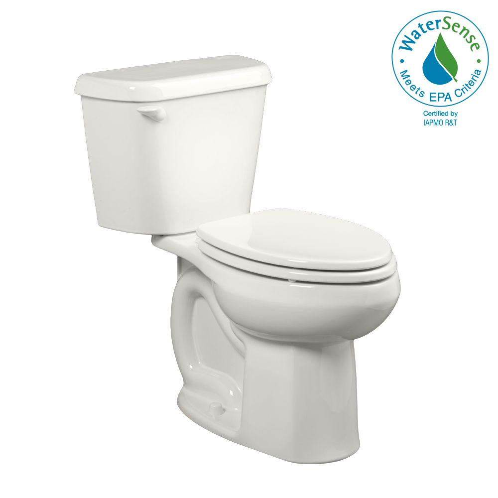 10 Inch Rough In Toilet Canada American Standard Colony 10 In Rough In 2 Piece 1 28 Gpf Single Flush Elongated Toilet In White Seat Not Included
