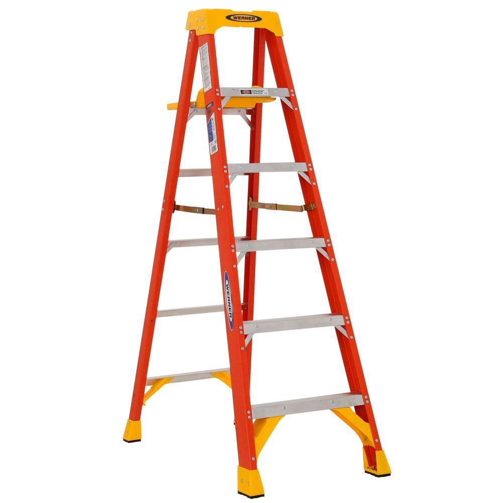 Upc 051751044416 Step Ladders Werner Ladders 6 Ft