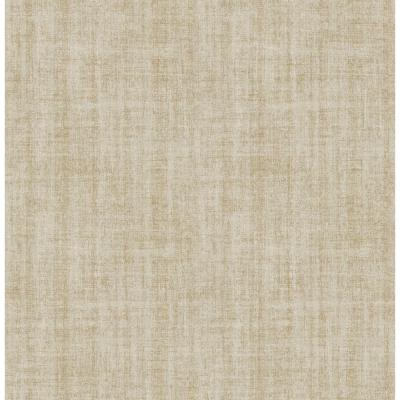 NuWallpaper 30.75 sq. ft. Ramie Linen Peel and Stick Wallpaper-NU2496HD2 - The Home Depot