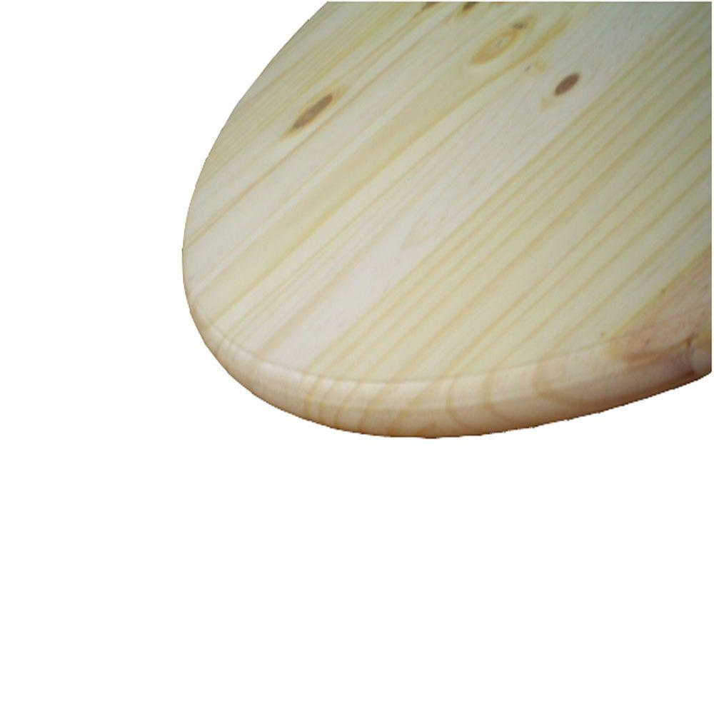 Round Table Tops 1 In X 2 Ft X 2 Ft Pine Edge Glued Panel Round Board